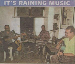 Article: Gomantak Times 2005: It's raining music!